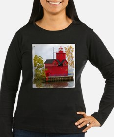 Big Red, Holland MI Long Sleeve T-Shirt
