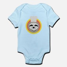 Sloth cook with hat Body Suit