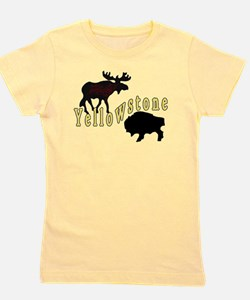 Bison Moose Yellowstone T-Shirt