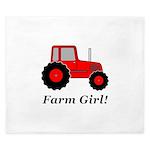 Farm Girl Tractor King Duvet