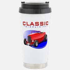 Classic Hot Rod Stainless Steel Travel Mug