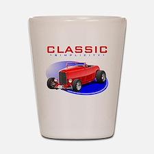 Classic Hot Rod Shot Glass