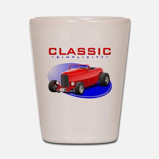 Classic Hot Rod Shot Glass