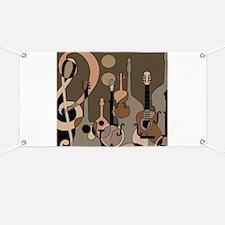 Cute Folk music Banner