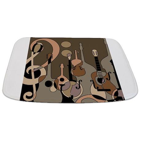 Cute Music Bathmat