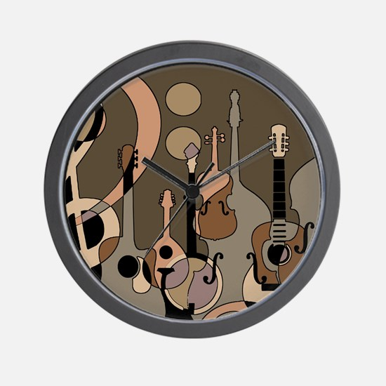 Cute Music Wall Clock