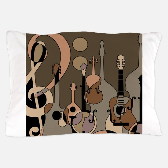 Unique Blues music Pillow Case