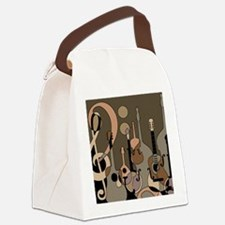 Unique Music Canvas Lunch Bag