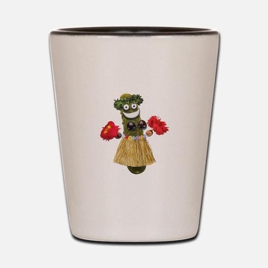 Hula Pickle Shot Glass