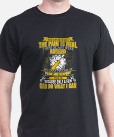 Mechanic's Life The Pain Is Real These Sca T-Shirt