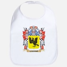 Luciano Coat of Arms - Family Crest Baby Bib