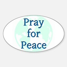Pray for Peace Decal