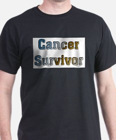 Cancer Survivor Ash Grey T-Shirt