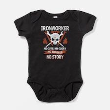 Ironworker No Cutt No Glory No Bruises N Body Suit