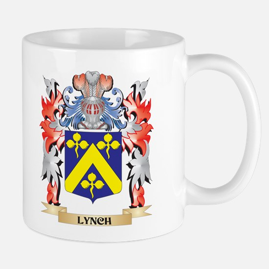 Lynch Coat of Arms - Family Crest Mugs