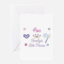 Ava - Grandpa's Little Prince Greeting Card