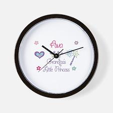 Ava - Grandpa's Little Prince Wall Clock
