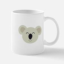 Happy Koala head Mugs