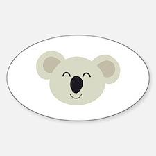 Happy Koala head Decal