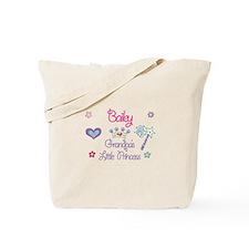 Bailey - Grandpa's Little Pri Tote Bag