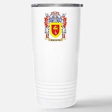 Macbeth Coat of Arms - Stainless Steel Travel Mug