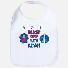 Blast Off with Aidan Bib
