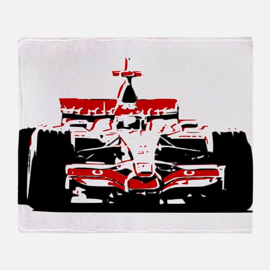 F 1 Throw Blanket