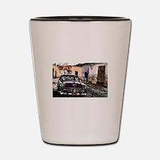 Streets of cuba Shot Glass