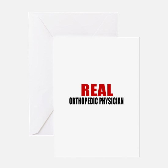 Real Orthopedic Physician Greeting Card