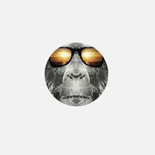 Bigfoot In Shades Mini Button