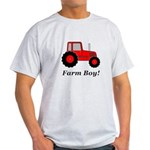 Farm Boy Red Tractor Light T-Shirt