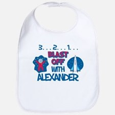 Blast Off with Alexander Bib