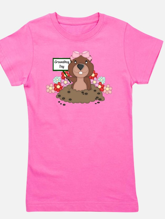 Groundhog Girl T-Shirt