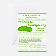 Pickle Conspiracy Greeting Cards