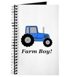 Farm Boy Blue Tractor Journal