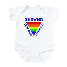 Shawna Gay Pride (#005) Infant Bodysuit