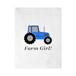 Farm Girl Tractor Twin Duvet