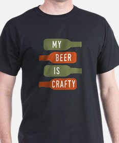 Unique Beer drinking garden gnome T-Shirt