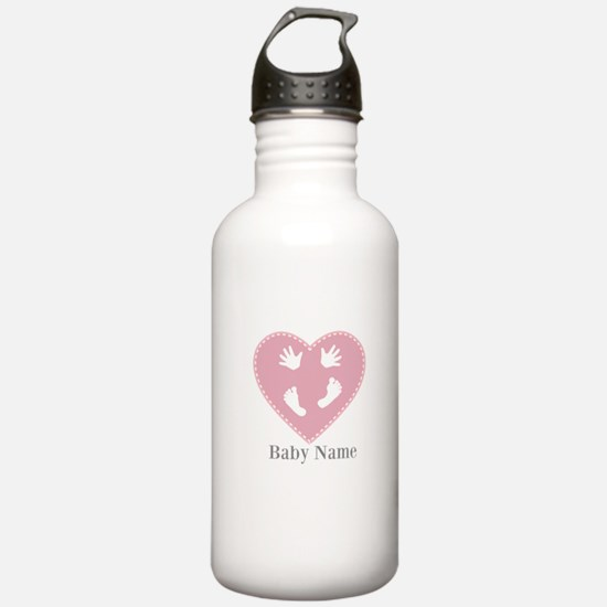 Add Baby's Name Water Bottle