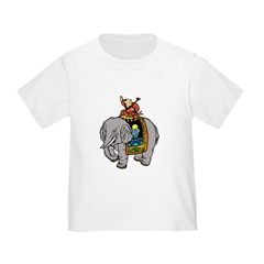 Chinese Boy With Elephant T