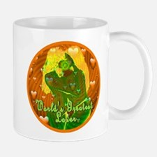 World's Greatest Lover Kiss of the Godd Mug