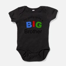 Tricolor-I'm going to be a big brother Body Suit