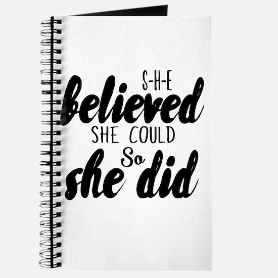 She believed Journal