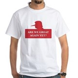 Anti trump Mens White T-shirts