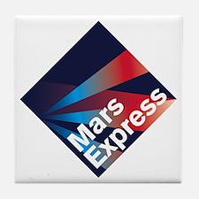 Mars Express Tile Coaster