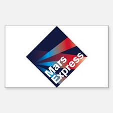 Mars Express Sticker (Rectangle)