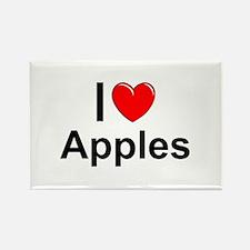 Apples Rectangle Magnet