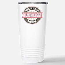 pulmonologist Stainless Steel Travel Mug