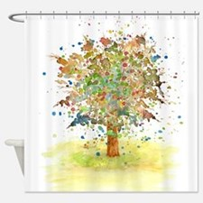 Landscape 466 Tree Shower Curtain