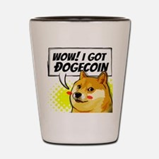 WOW I Got Dogecoin Shot Glass